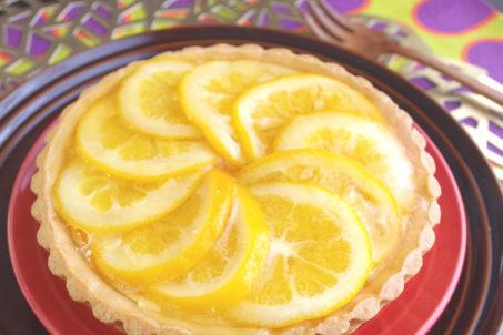 《フルーツピクルス(メイヤーレモン)》のチーズタルト