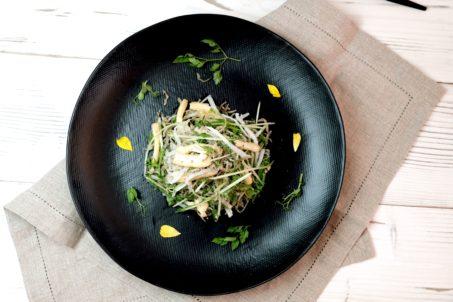 《アロドレ》水菜のゆず山椒 warmthサラダ