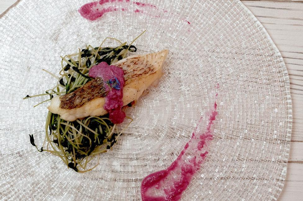 《アロドレ》ラベンダー香る白身魚のhappyムニエル