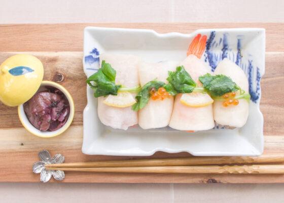 《聖護院かぶらのピクルス》のおもてなし寿司